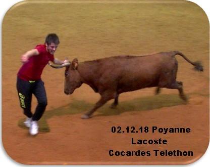 02 12 18 poyanne lacoste cocardes telethon