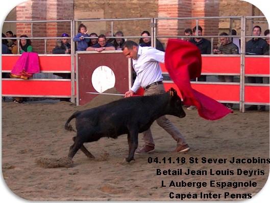 04 11 18 st sever jacobins l auberge espagnole capea inter penas