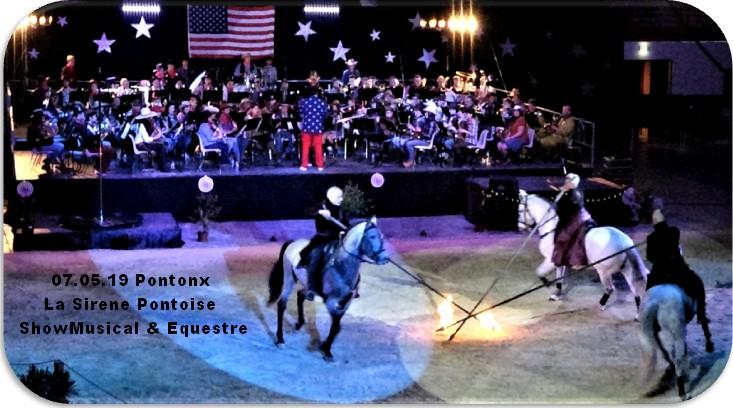 07 05 19 pontonx la sirene showmusical equestre
