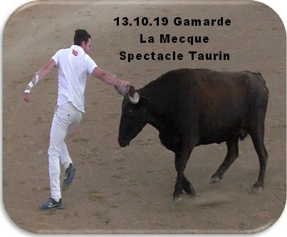 13 10 19 gamarde la mecque spectacle taurin