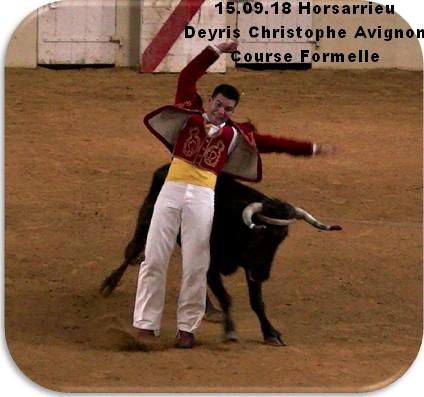 15 09 18 horsarreu deyris chrsitophe avignon course formelle