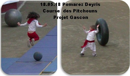 18 05 18 pomarez deyris course des pitchouns projet gascon