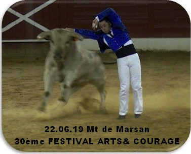 22 06 19 mt de marsan 30 eme festival arts courage