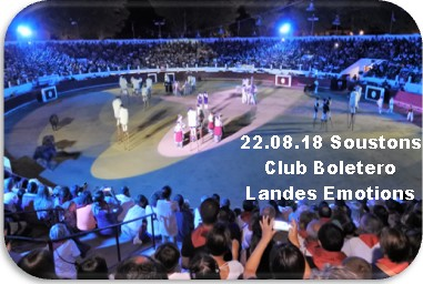 22 08 18 soustons club boletero landes emotions