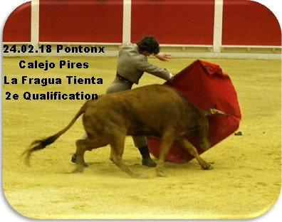 24 02 18 pontonx calejo pires la fragua tienta 2e qualification