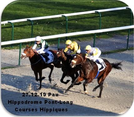 27 12 19 pau hippodrome pont long courses chevaux