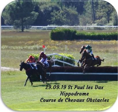 29 09 19 st paul les dax hippodrome course de chevaux obstacles