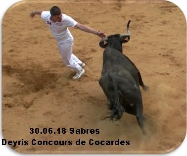 30 06 18 sabres deyris concours de cocardes
