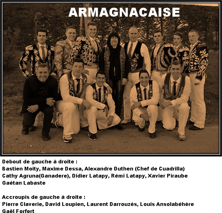 Armagnacaise alexadre duthen 2018
