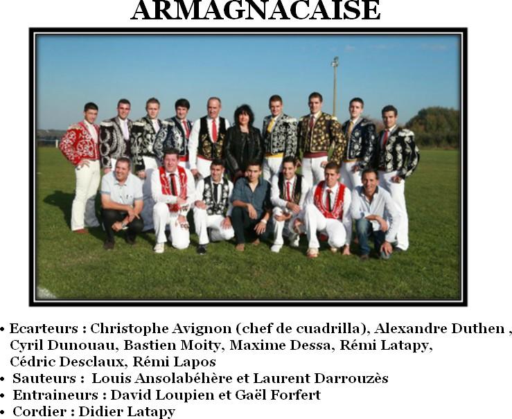 Cuadrilla armagnacaise 2017