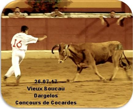 26.08.17 Vieux Boucau Dargelos Cocardes