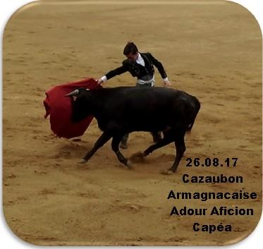 26.08.17 Cazaubon Armagnacaise Capéa