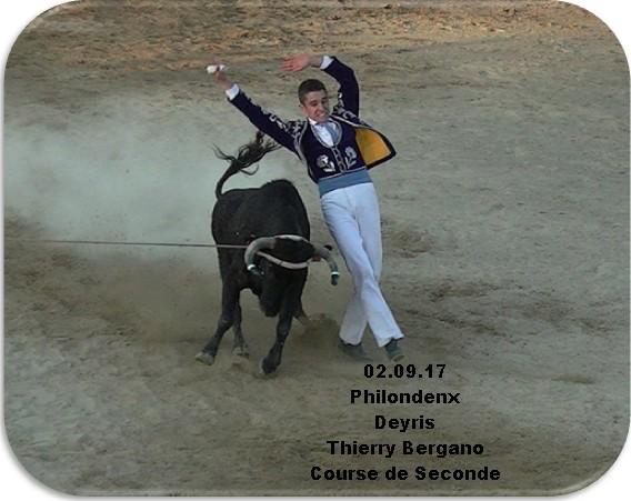 02.09.17 Philondenx Deyris Thierry Bergano