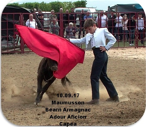 10.09.17 Maumusson Béarn Armagnac Adour Aficion