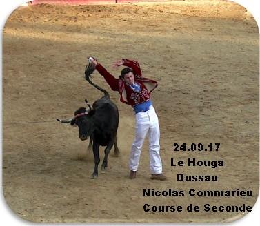 24.09.17 Le Houga Dussau Nicolas Commarieu