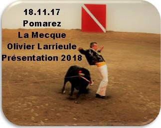 18.11.17 Pomarez La Mecque Olivier Larrieule Présentation 2018